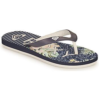 Čevlji  Deklice Japonke Roxy TAHITI VII G Modra