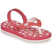 Čevlji  Deklice Japonke Roxy TW TAHITI VI Rožnata