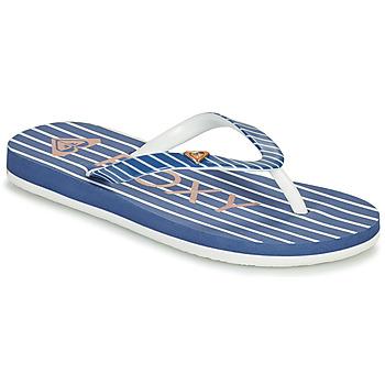 Čevlji  Deklice Japonke Roxy PEBBLES VII G Modra