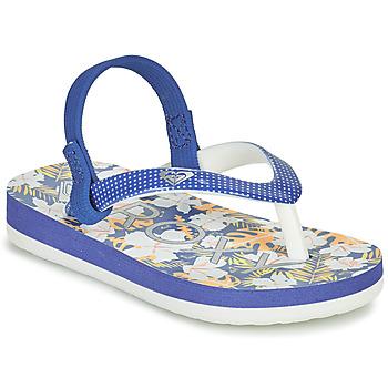 Čevlji  Deklice Japonke Roxy TW PEBBLES VI Modra