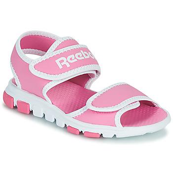 Čevlji  Otroci Športni sandali Reebok Sport WAVE GLIDER III Rožnata