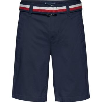 Oblačila Dečki Kratke hlače & Bermuda Tommy Hilfiger SORTA Modra