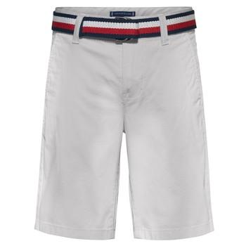 Oblačila Dečki Kratke hlače & Bermuda Tommy Hilfiger FORTA Bela