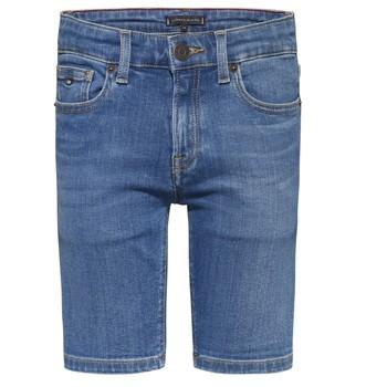Oblačila Dečki Kratke hlače & Bermuda Tommy Hilfiger KAHUI Modra