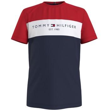 Oblačila Dečki Majice s kratkimi rokavi Tommy Hilfiger KB0KB06534-C87 Večbarvna