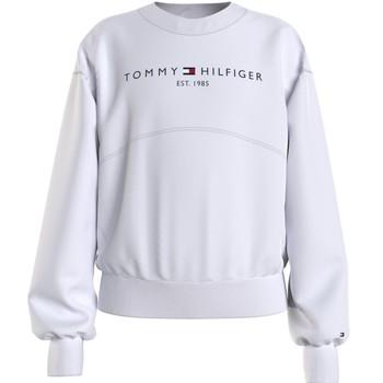 Oblačila Deklice Puloverji Tommy Hilfiger THUBOR Bela