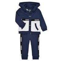 Oblačila Dečki Otroški kompleti Guess P1RG00-KA6W0-DEKB Modra