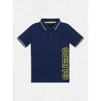 Oblačila Dečki Polo majice kratki rokavi Guess L1GP00-KADZ0-DEKB Modra