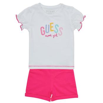 Oblačila Deklice Otroški kompleti Guess A1GG07-K6YW1-TWHT Večbarvna