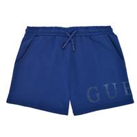 Oblačila Deklice Kratke hlače & Bermuda Guess J1GD00-KAN00-PSBL Modra
