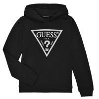Oblačila Deklice Puloverji Guess J83Q14-K5WK0-A996 Črna