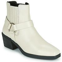 Čevlji  Ženske Gležnjarji Vagabond Shoemakers SIMONE Bela