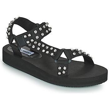 Čevlji  Ženske Sandali & Odprti čevlji Steve Madden HENLEY-R Črna