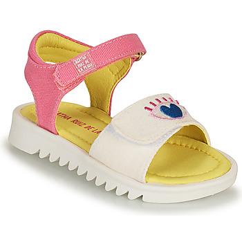 Čevlji  Deklice Sandali & Odprti čevlji Agatha Ruiz de la Prada SMILEY Bela / Rožnata