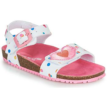 Čevlji  Deklice Sandali & Odprti čevlji Agatha Ruiz de la Prada BIO Bela