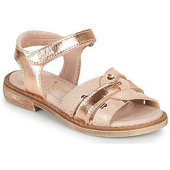 Čevlji  Deklice Sandali & Odprti čevlji Aster TAWA Rožnata