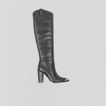 Čevlji  Ženske Mestni škornji    Bronx Bottes femme  New-Americana noir