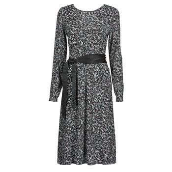 Oblačila Ženske Kratke obleke Le Temps des Cerises CANDY Črna