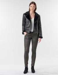 Oblačila Ženske Hlače s 5 žepi Le Temps des Cerises ANDREA Črna
