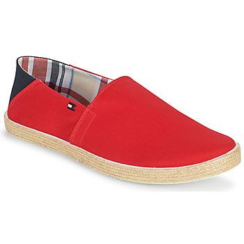 Čevlji  Moški Espadrile Tommy Hilfiger EASY SUMMER SLIP ON Rdeča
