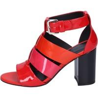 Čevlji  Ženske Sandali & Odprti čevlji Hogan BK646 Rdeča