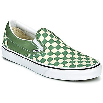 Čevlji  Moški Slips on Vans CLASSIC SLIP ON Zelena