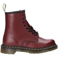 Čevlji  Ženske Gležnjarji Dr Martens DMS1460CRSM10072600 Rdeča
