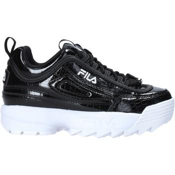 Čevlji  Otroci Modne superge Fila 1011081 Črna