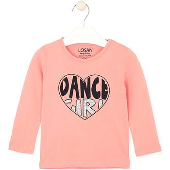 Oblačila Otroci Majice & Polo majice Losan 026-1632AL Roza