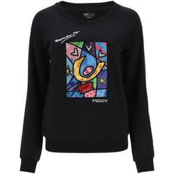 Oblačila Ženske Puloverji Freddy F0WBRS4 Črna