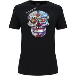 Oblačila Ženske Majice & Polo majice Freddy F0WBRT2 Črna