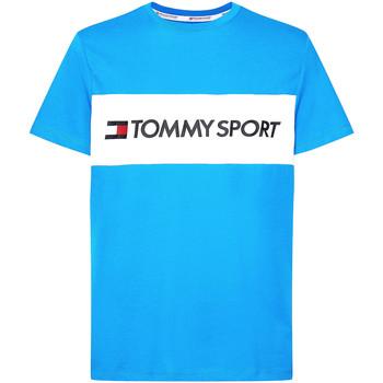 Oblačila Moški Majice & Polo majice Tommy Hilfiger S20S200375 Modra