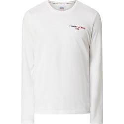 Oblačila Moški Majice & Polo majice Tommy Jeans DM0DM09402 Biely