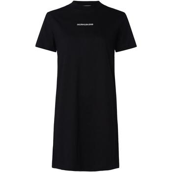 Oblačila Ženske Obleke Calvin Klein Jeans J20J214170 Črna