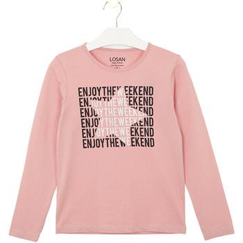 Oblačila Otroci Majice & Polo majice Losan 024-1631AL Roza