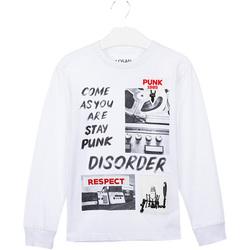 Oblačila Otroci Majice & Polo majice Losan 023-1000AL Biely