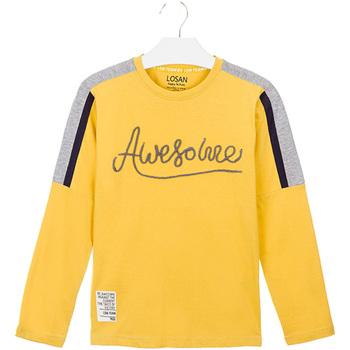 Oblačila Otroci Majice & Polo majice Losan 023-1008AL Rumena