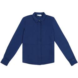 Oblačila Ženske Srajce & Bluze Calvin Klein Jeans K20K202183 Modra