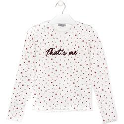 Oblačila Otroci Majice & Polo majice Losan 024-1008AL Biely