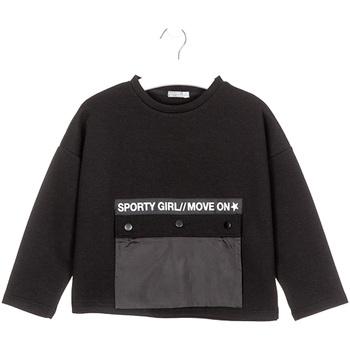 Oblačila Otroci Puloverji Losan 024-1015AL Črna