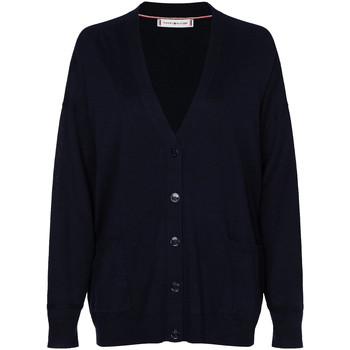 Oblačila Ženske Telovniki & Jope Tommy Hilfiger WW0WW28326 Modra