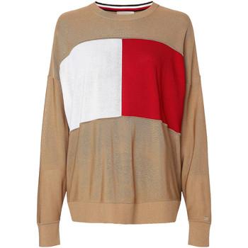 Oblačila Ženske Puloverji Tommy Hilfiger WW0WW28582 Bež