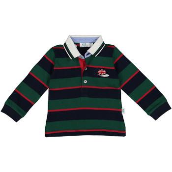 Oblačila Dečki Polo majice dolgi rokavi Melby 20C0270 Zelena