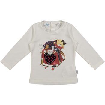 Oblačila Otroci Majice & Polo majice Melby 20C0361 Biely