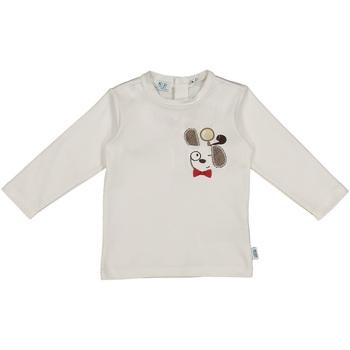 Oblačila Otroci Majice & Polo majice Melby 20C2150 Biely