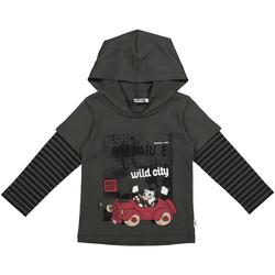 Oblačila Otroci Puloverji Melby 40C2062DN Siva