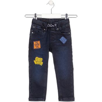 Oblačila Otroci Jeans Losan 025-6037AL Modra