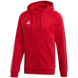 Oblačila Moški Puloverji adidas Originals Core 18 FZ Hoodie Rdeča