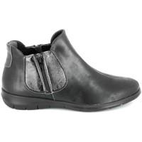 Čevlji  Ženske Polškornji Boissy 66000 Noir Črna