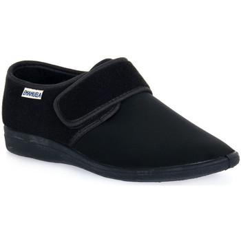 Čevlji  Moški Nogavice Emanuela 985 NERO PANTOFOLA Nero